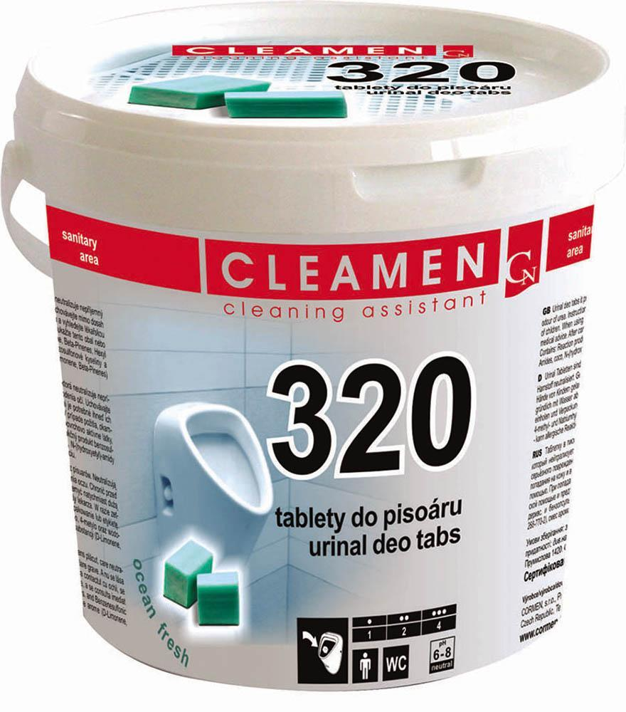 Cleamen 320 WC tablety do pisoáru 1,5 kg