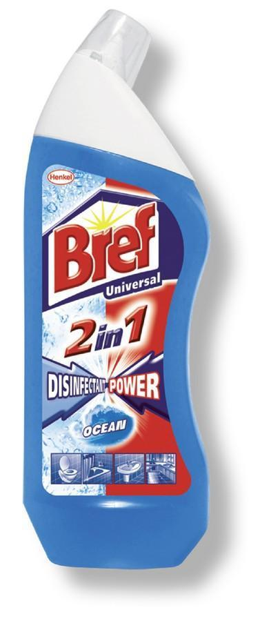 Bref WC gel Power Desinfection Chlorine 750 ml