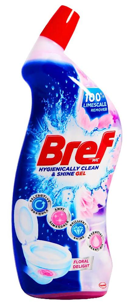 Bref Power Aktiv WC gel 700 ml Pine/Floral