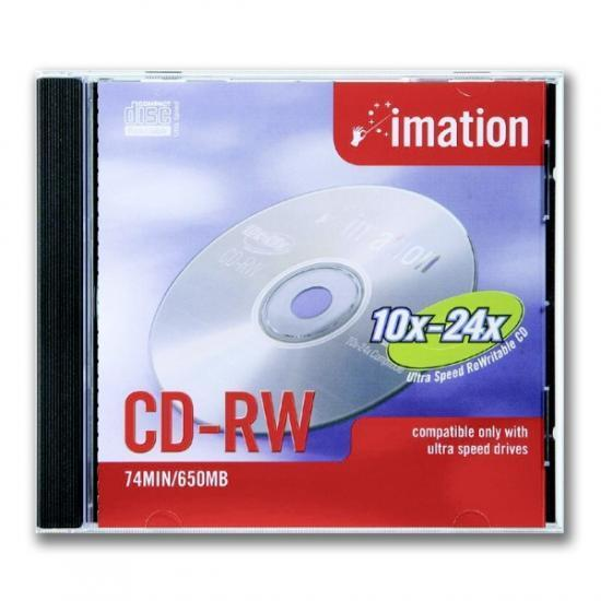 CD -RW IMATION 700MB