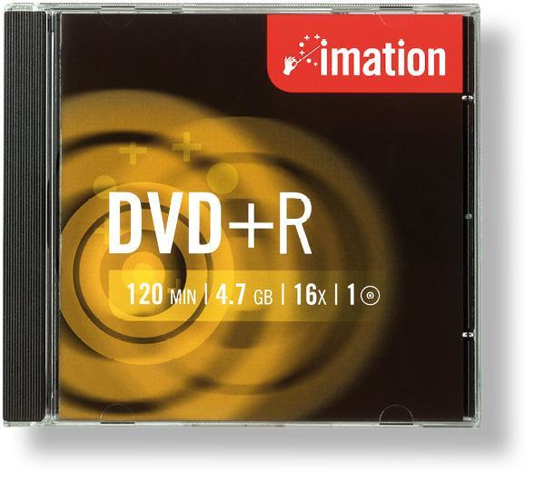 DVD +R IMATION 4.7 GB, 1 ks